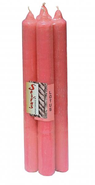 Set 4 Lumanari Parfumate LOTUS, 22*220 mm 2