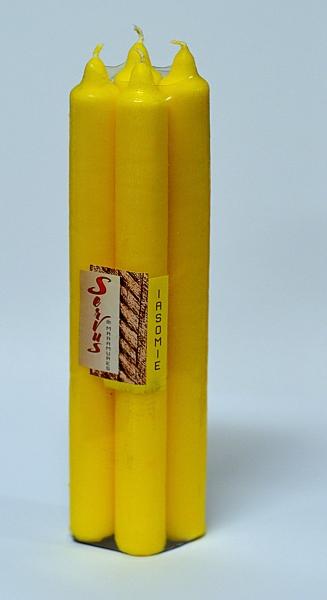 Set 4 Lumanari Parfumate IASOMIE, 22*220 mm 2