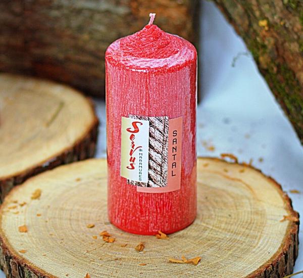 Lumanare Parfumata LEMN DE SANTAL , cilindru 130 mm 2