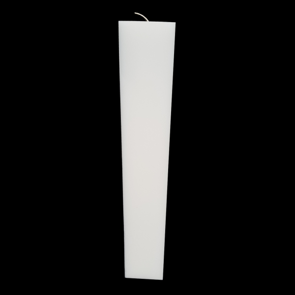 Set 2 Lumanari Nunta,model Patrat, H=40 cm / D= 5,5 cm 4