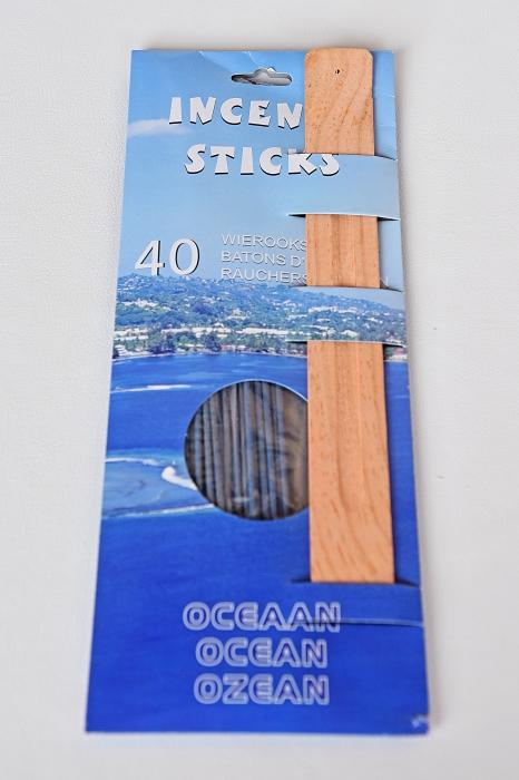 Set Aromaterapia de 40 betisoare parfumate + suport de lemn. 0