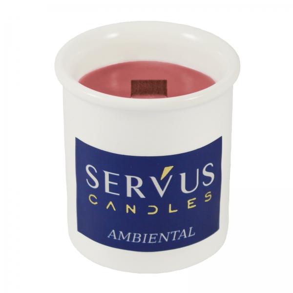 Bax 12 Lumanari Parfumate AMBIENTAL, cu fitil din lemn 2