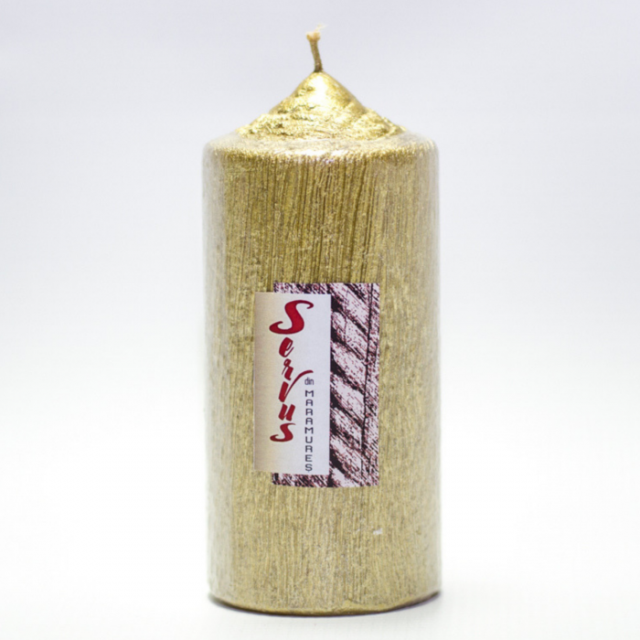 Lumanare AURIE , cilindru 13 cm 4