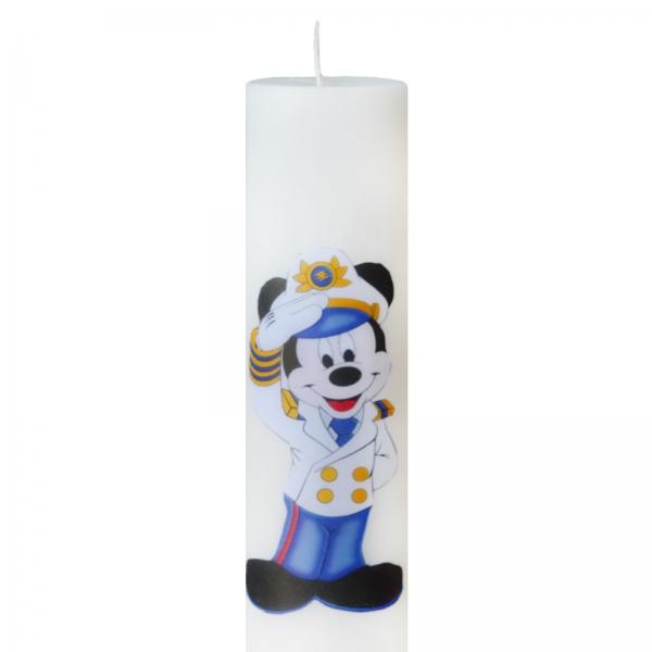 Set 6 Lumanari Botez Marinarul Mickey, H=35cm / D=5,5cm 1