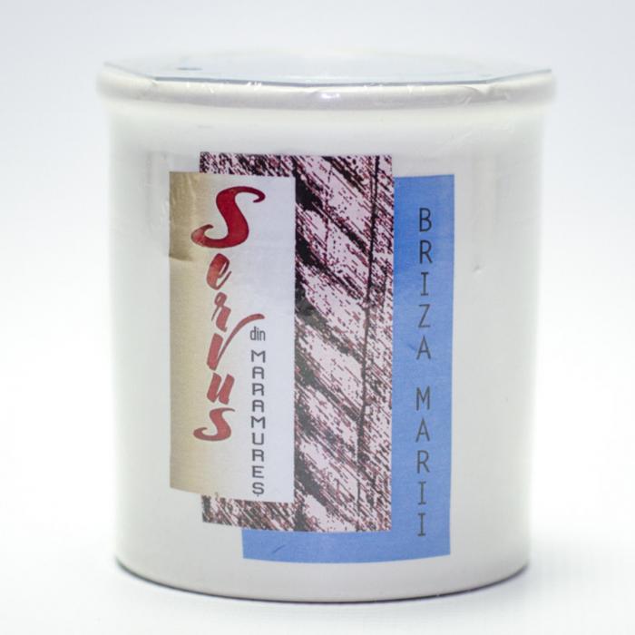 Lumanare Parfumata BRIZA MARII, cu 2 fitile din lemn 3