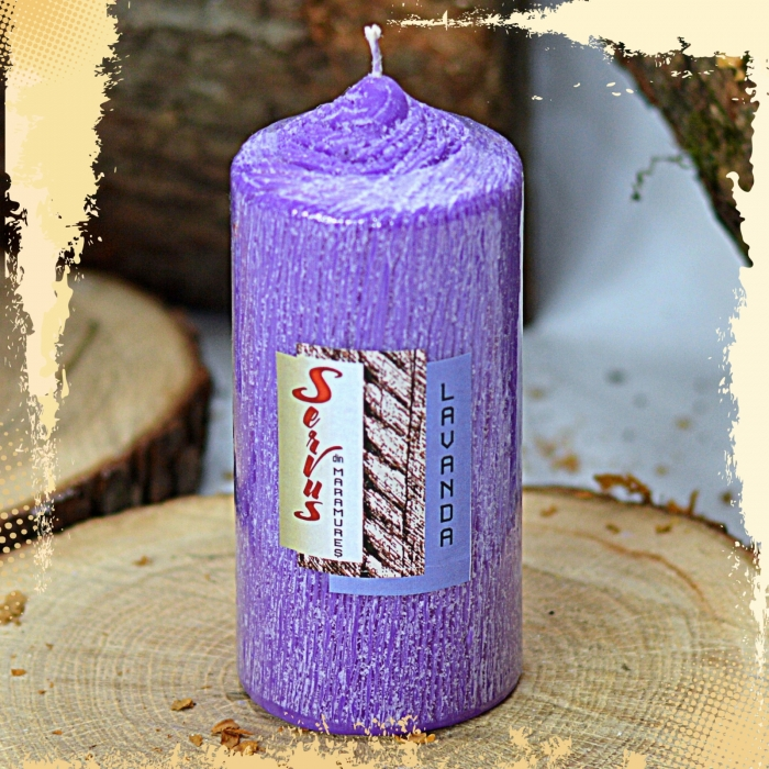 Lumanare Parfumata LAVANDA , cilindru 130 mm 4