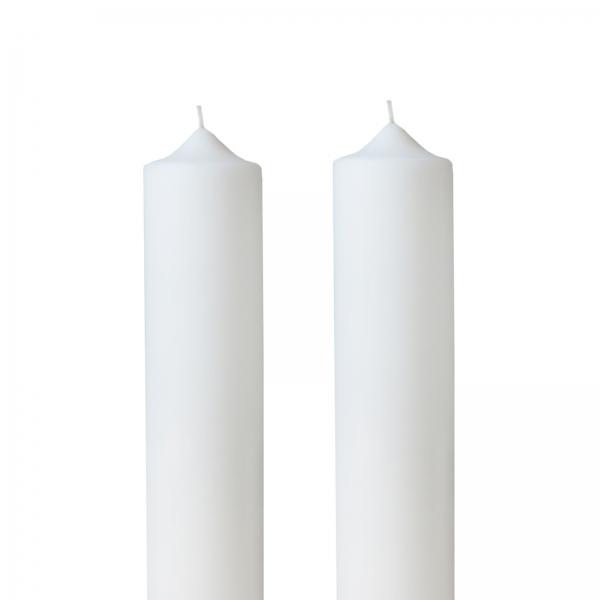 Set 2 Lumanari Nunta, simple, H= 100 cm / D= 4,5 cm 0