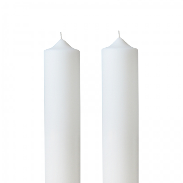 Set 2 Lumanari Nunta, simple, H= 40 cm / D= 5,5 cm 0